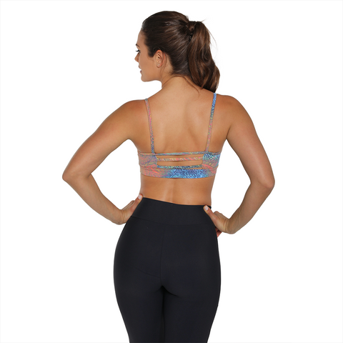 Movement Yoga Bra Safari Gold