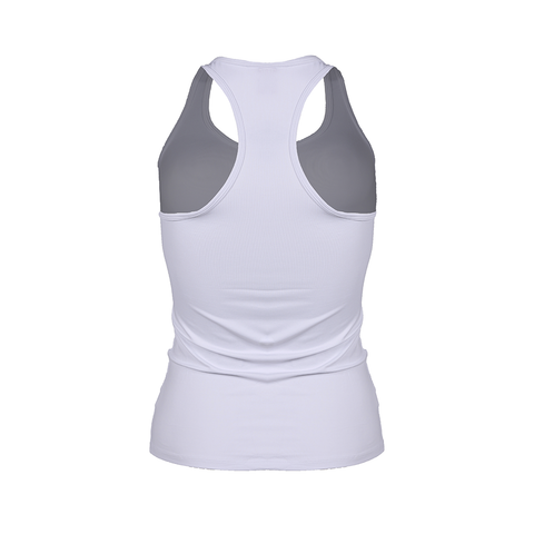 Racer Tank Snow White (Final Sale)