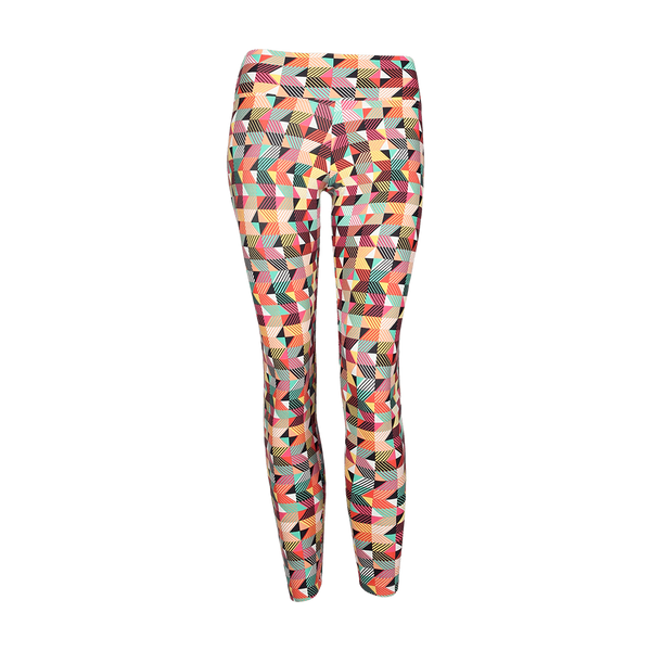 Extra Long Patterned Legging Volpi (Final Sale)