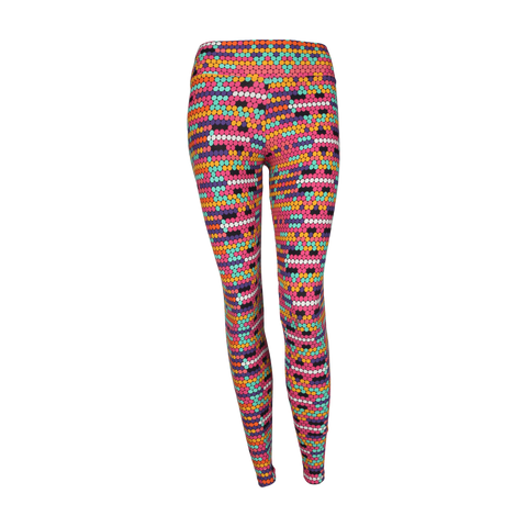 Patterned Yoga Legging Tetris (Final Sale)