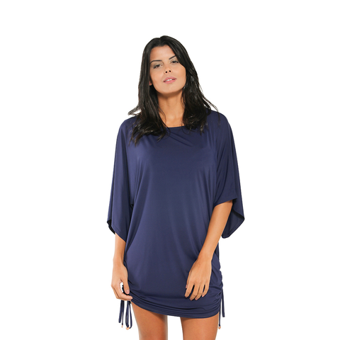 Breeze On By Cover Up Navy (Final Sale)