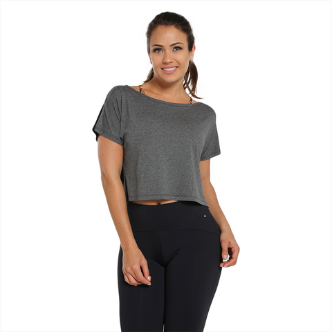 Crop Top Double Color