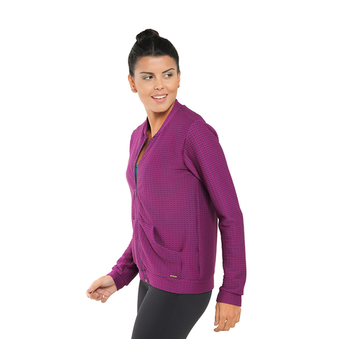 Revitalize It Jacket Dark Purple