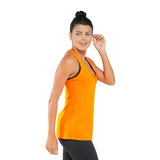 Dry Fit Basic Tank Orange