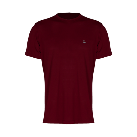 Weightless Men's Workout Shirt Wine (Final Sale)