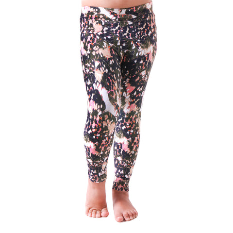 MiniMe Patterned Yoga Legging Fly Away (Final Sale)