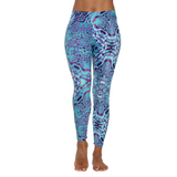 Patterned Yoga Legging Seva by Tiffany Cruikshank