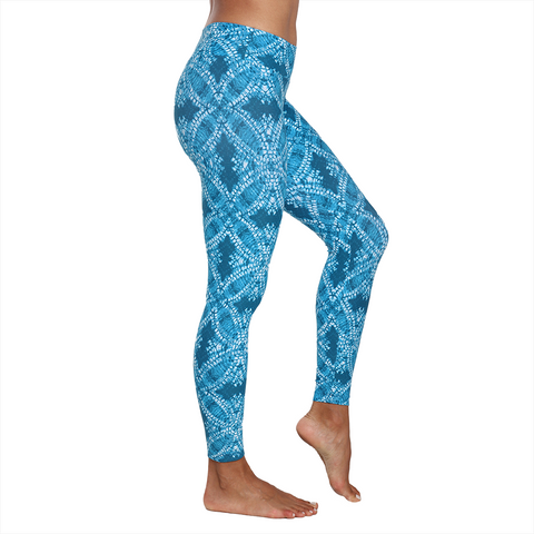 Patterned Yoga Legging Starfish (Final Sale)