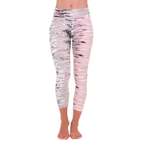Patterned Yoga Legging Himalaya
