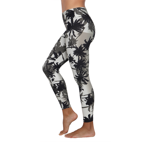 Patterned Yoga Legging Tropical Storms