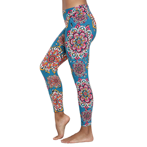 Patterned Yoga Legging Dalyan (Final Sale)