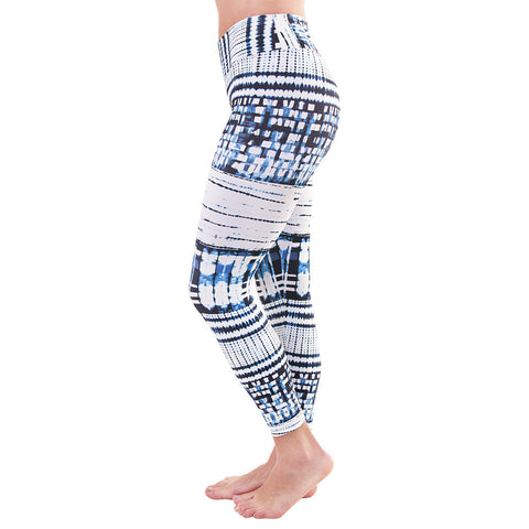 Patterned Yoga Legging Pixel Wild (Final Sale)
