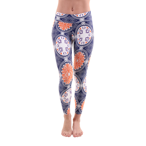 Patterned Yoga Legging Grand Bazaar