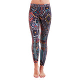 Patterned Yoga Legging Madagascar