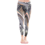 Patterned Yoga Legging Savanna