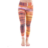 Patterned Yoga Legging Giza
