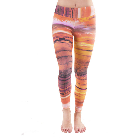Patterned Yoga Legging Giza (Final Sale)