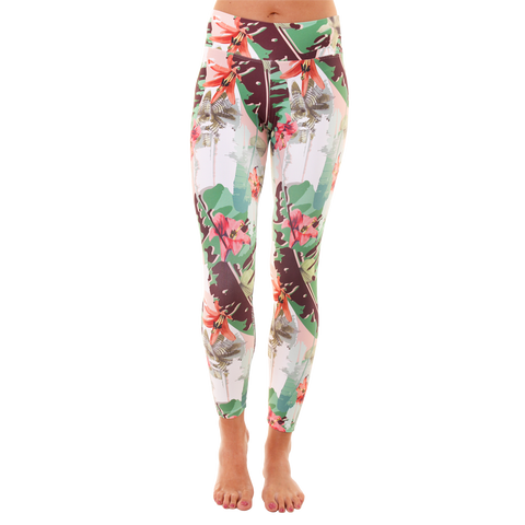 Patterned Yoga Legging Bloom