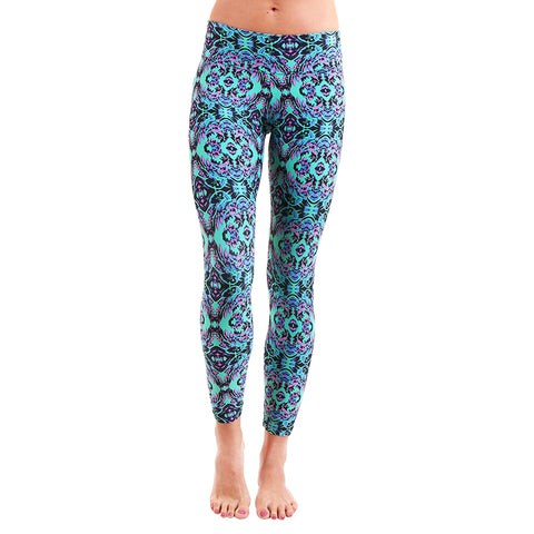 Patterned Yoga Legging Wild Magic (Final Sale)