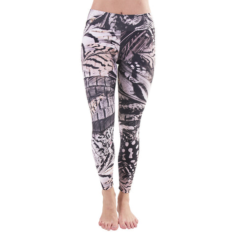 Patterned Yoga Legging Voel (Final Sale)