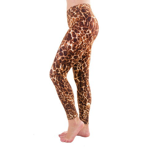 Patterned Yoga Legging Giraffe (Final Sale)