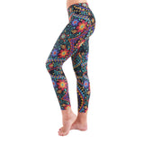 Patterned Yoga Legging Tracery Effect (Final Sale)