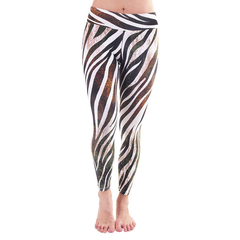 Patterned Yoga Legging Into The Wild (Final Sale)