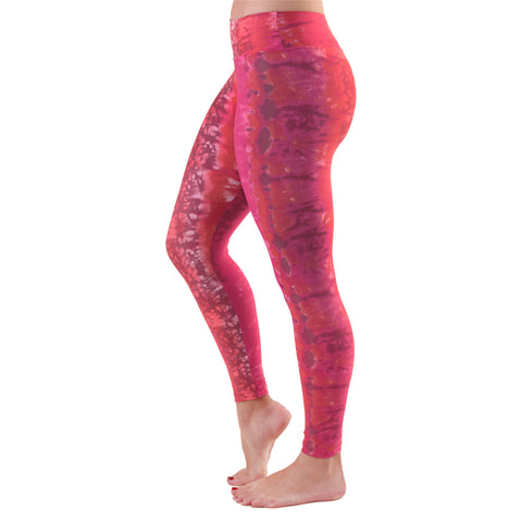 Patterned Yoga Legging Red Velvet (Final Sale)