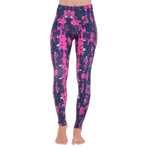Wide Waistband Patterned Yoga Legging My Romance