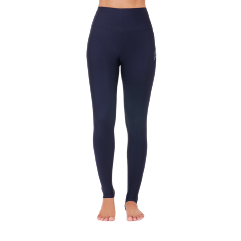 Solid Yoga Extra Long Legging Black
