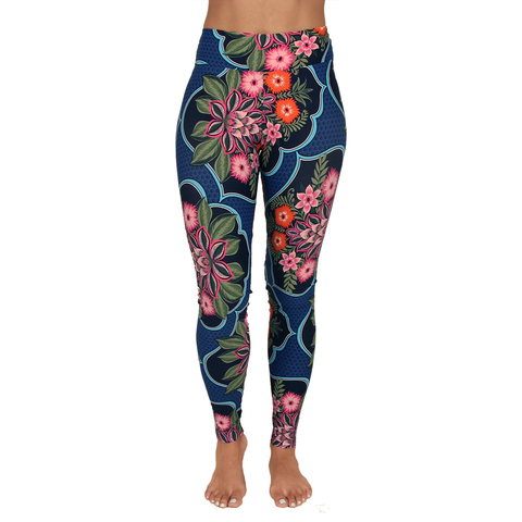 Extra Long Patterned Legging La Dolce Vita