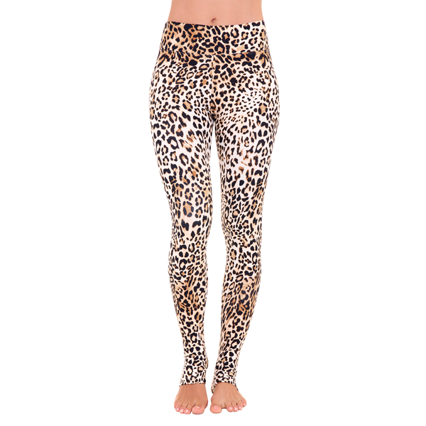 Extra Long Patterned Legging Queen Cheetah