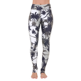 Extra Long Patterned Legging Tropical Storms