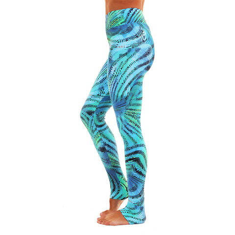 Extra Long Patterned Yoga Legging Amazon