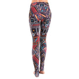 Extra Long Patterned Yoga Legging Madagascar (Final Sale)