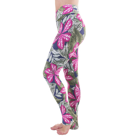 Extra Long Patterned Yoga Legging Ethiopia (Final Sale)