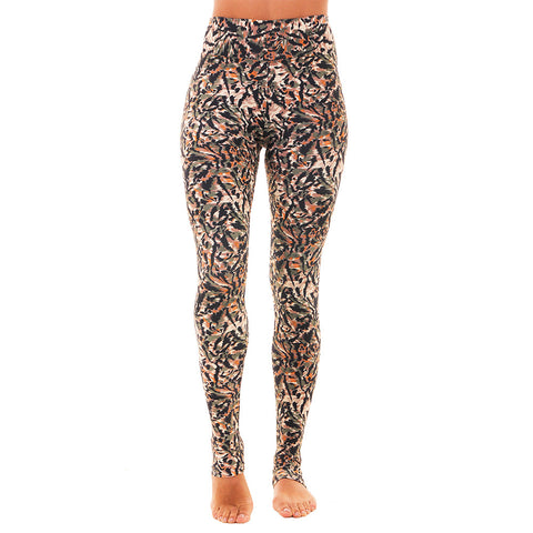 Extra Long Patterned Yoga Legging Sudan (Final Sale)