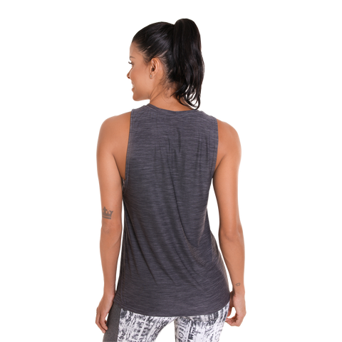Perspective Muscle Tank III Dark Grey