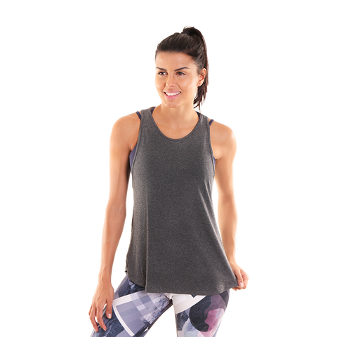 Believe Tank II Grey