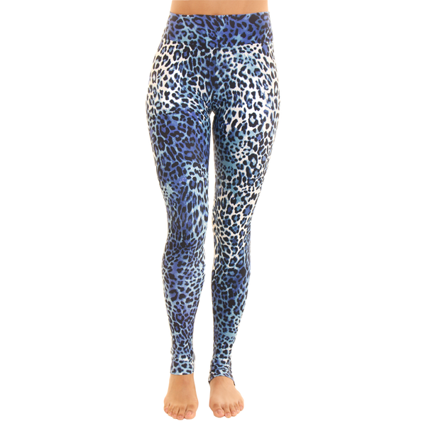 Om Legging Blue Wild