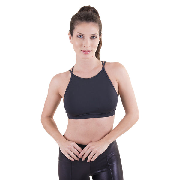 Dare to be Bold Sports Bra Black
