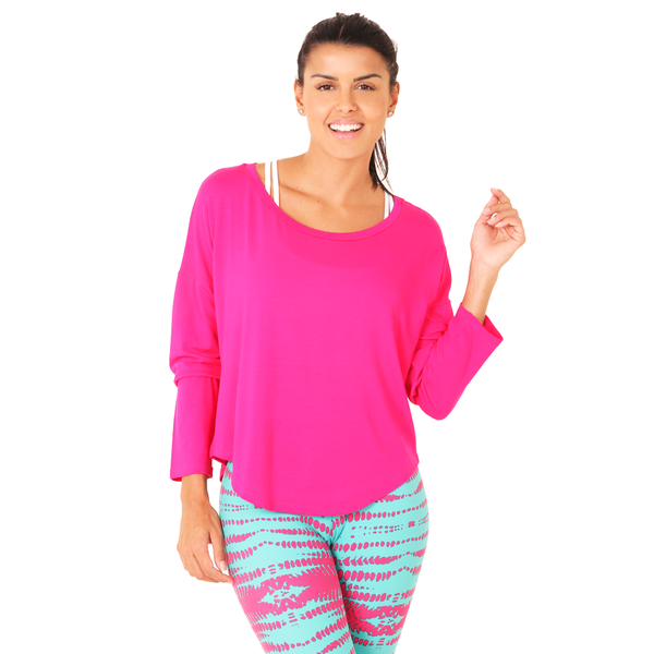 Zen Long Sleeve Pink