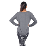 Zen Long Sleeve Grey