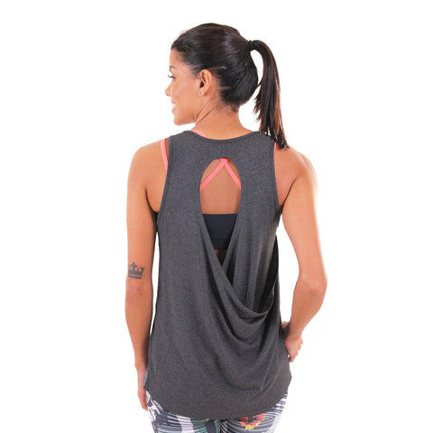 Raindrop Tank Grey (Final Sale)