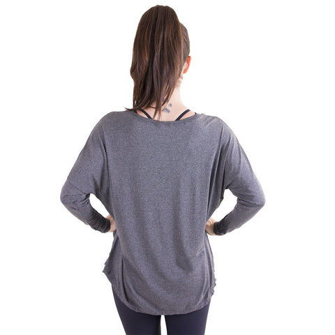 Jade Long Sleeve Grey (Final Sale)