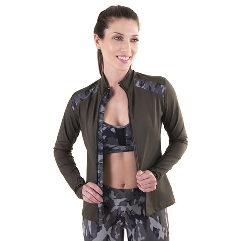 Warm Me Up Jacket Militar (Final Sale)