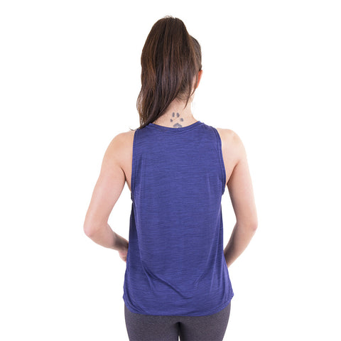 Raise The Vibe Muscle Tank III Navy (Final Sale)