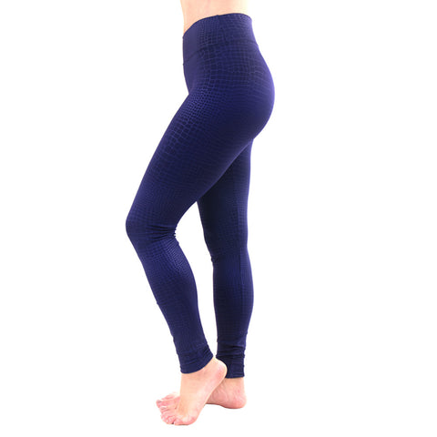 Sleek Addiction Extra Long Legging Snake Navy (Final Sale)