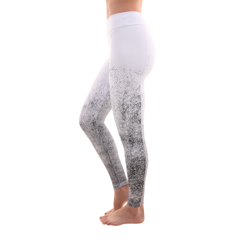 Move Along Handmade Legging Tie Dye White (Final Sale)