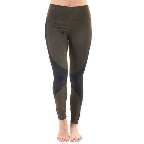Futura Legging Military Green (Final Sale)